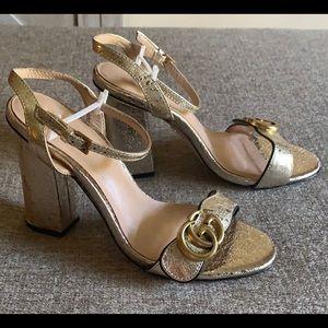 Marmont Gold Heels